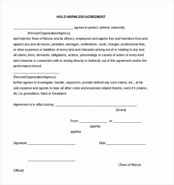 Simple Hold Harmless Agreement Awesome Hold Harmless Agreement Template 13 Free Word Pdf Newsletter Template Free Letter Templates Statement Template