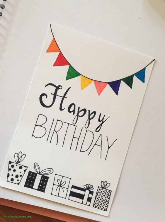 20 Awesome Homemade Birthday Card Ideas