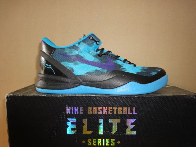 Hot Deal Nike kobe 8 2013 Kobe Byrant Cheap sale Blue Glow Strat