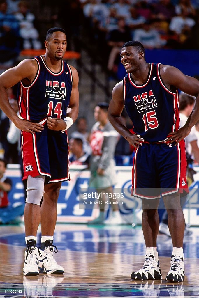 Alonzo Mourning & Larry Johnson 2000