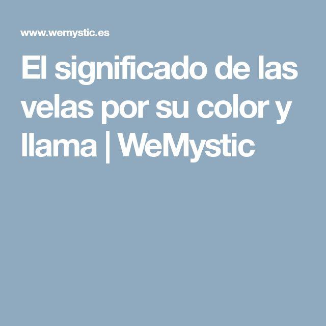 El significado de las velas por su color y llama | WeMystic