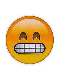 Teeth Emoji Sticker