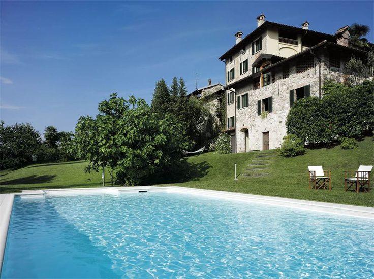 Unique Country Home off the shores of Lake Maggiore Valtravaglia, Varese, Italy – Luxury Home For Sale
