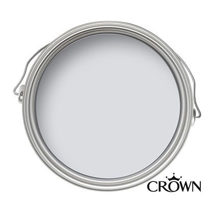 Crown Kitchen and Bathroom Soft Steel - Mid-sheen Paint - 2.5L