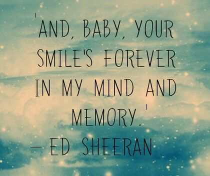 Thinking Out Loud - Ed Sheeran. Right I've found my new wedding song . Swoooon