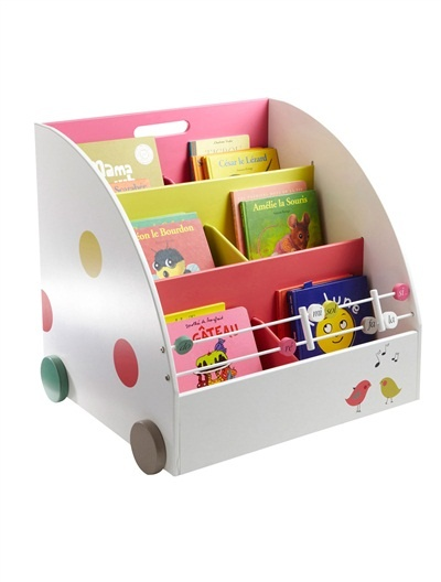 Etag re de lecture fille roulettes th me tralal 39 air - Bibliotheque a roulettes ikea ...