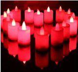 http://ift.tt/1Ox0att HSE 24pcs Red Flickering LED Tea Light Battery Candles Flameless Wedding Party