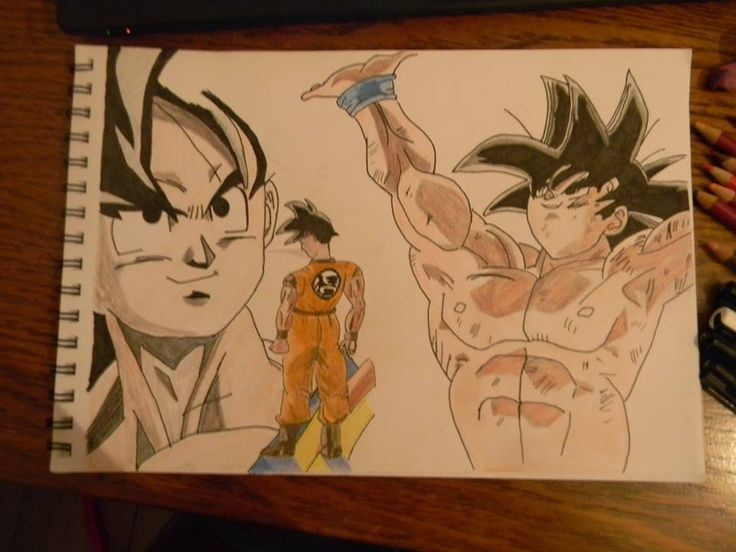 Goku, my second time trying anime