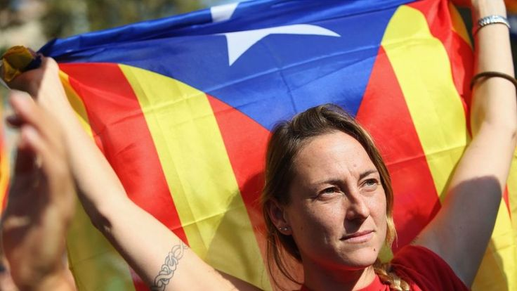 Catalan parliament declares independence from Spain.  The move comes as the Spanish government is on the brink of imposing direct rule on the region. 10/27/17