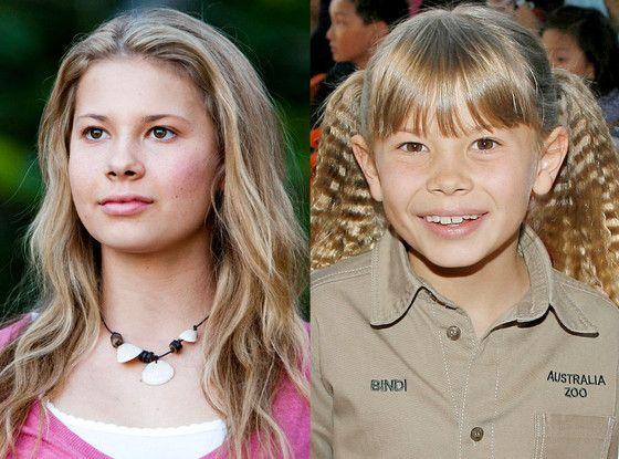 Steve Irwin daughter | Crocodile Hunter Steve Irwin's Daughter Bindi Is All Grown Up—Take a ...