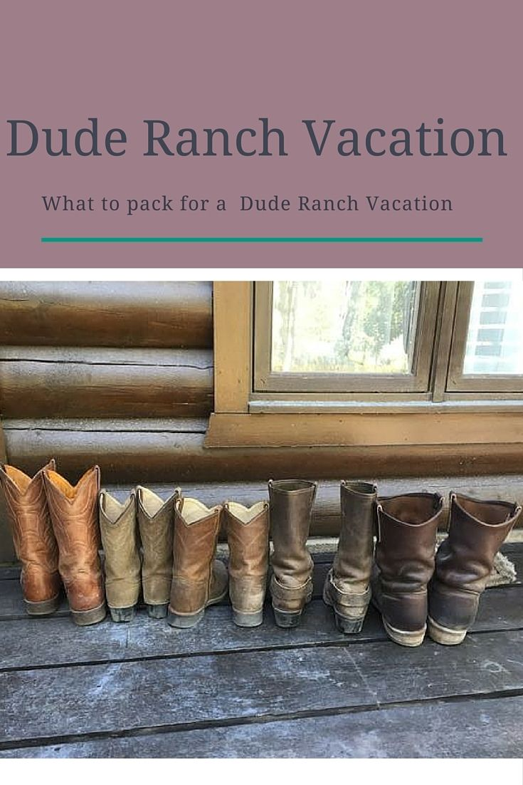 What to Pack for a Dude Ranch Vacation http://stayingclosetohome.com/what-to-pack-for-a-dude-ranch-vacation/ #ChooseYourSmooth @SheSpeaksUp, @GilletteVenus  @Walmart #ad