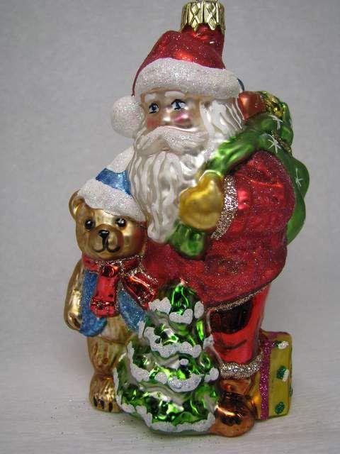 Santa Claus with teddybear