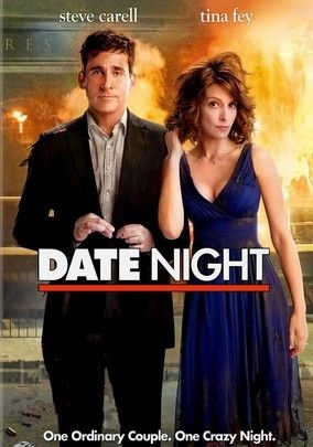 Date Night (2010) Who knew simple dinner reservations under a different name could turn one New Jersey couple's date night so terribly upside-down? Claire (Tina Fey) and Phil (Steve Carell) Foster leave their kids with the sitter (Leighton Meester) and head out for a night on the town -- as the Tripplehorns. Shawn Levy (Just Married, Night at the Museum) directs this action-comedy; Mark Wahlberg and James Franco co-star.
