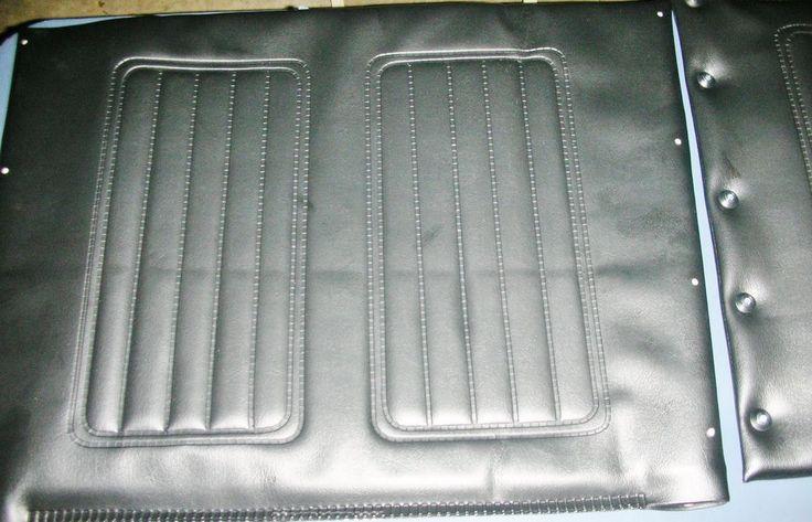 Replacement Wheelchair Vinyl Covering Back & Bottom Seat Foam Padded Upholstery #SunriseMedical