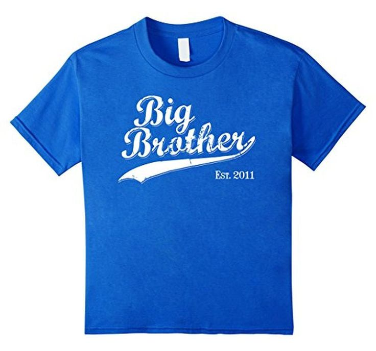Men's Big Brother Est 2011 Gift for New Brother T-Shirt