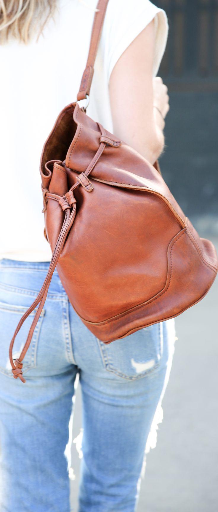 Cara Bucket Bag | The Frye Company
