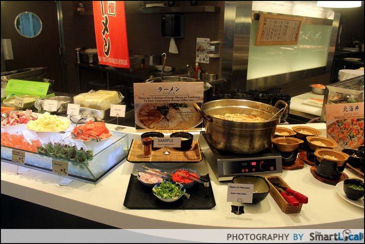10 Great Value Singapore Buffets under $30 No. 3 Chiso Zanmai