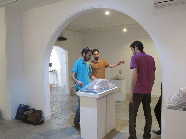 Hadi Arabnarmi. Exhibition sculpture sculptore art artist 2017