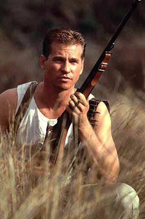 Val Kilmer -- before he gained 900 lbs and started cutting his hair like my 4th grade teacher :/