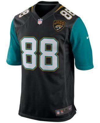 Nike Men's Allen Hurns Jacksonville Jaguars Game Jersey - Black XXL