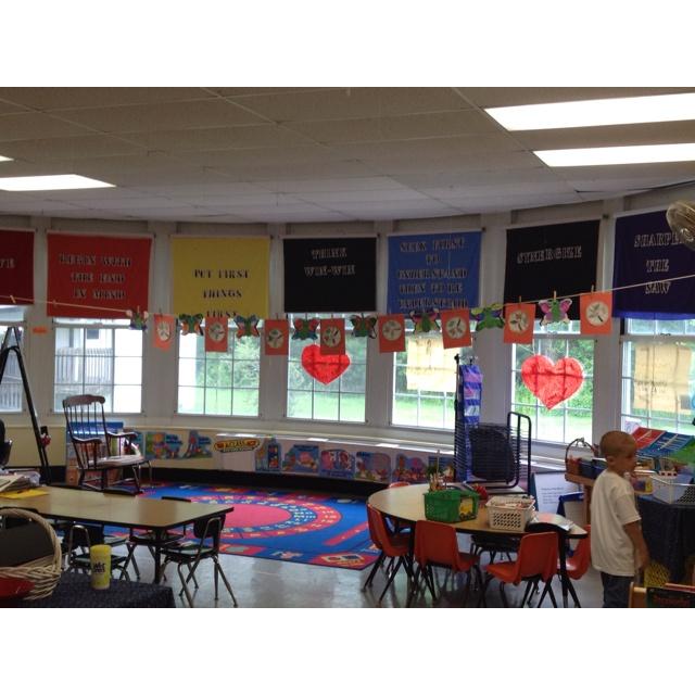 Ardena ES Farmingdale NJ Leader in Me School - this is a Kindergarten classroom