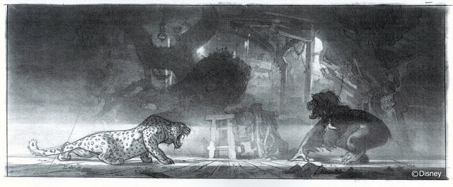 MAN OF BRONZE: CONCEPT ART DEL TARZÁN DE DISNEY