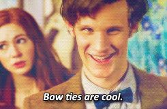 tv doctor who matt smith the doctor eleventh doctor bow tie