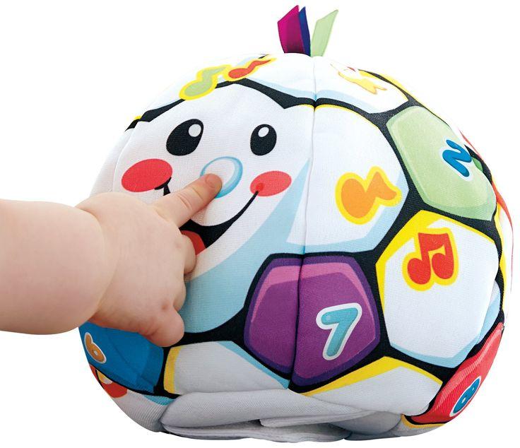 Fisher Price BMJ23 - Palla Interattiva Gioca e Impara