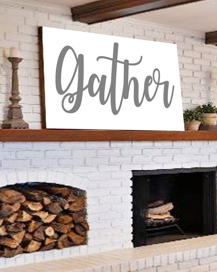 Large Gather Sign Home Decor Room Decor House And Banquettes