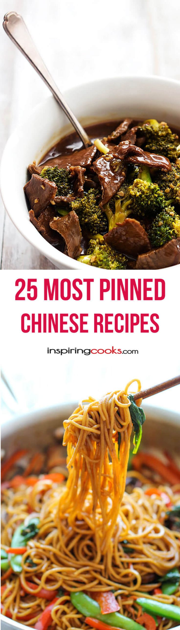25 Most Pinned Chinese Recipes