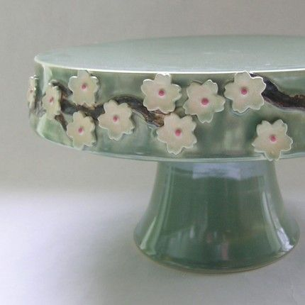 One of many gorgeous cake stands from the talented Whitney Smith.