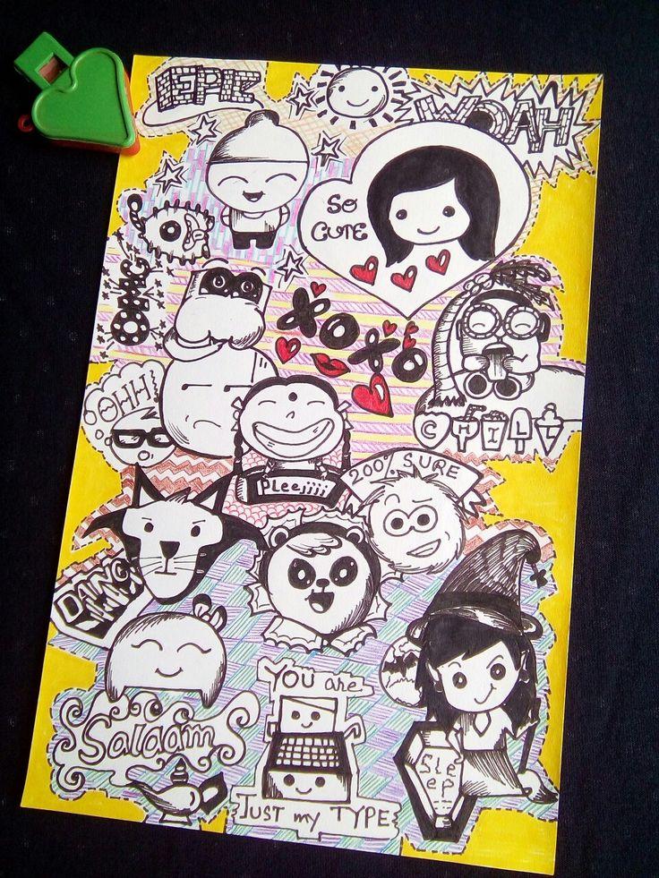 Hike sticker doodles