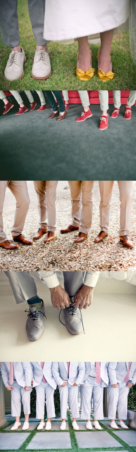Wedding #oxfords for the groomsmen - #shoes