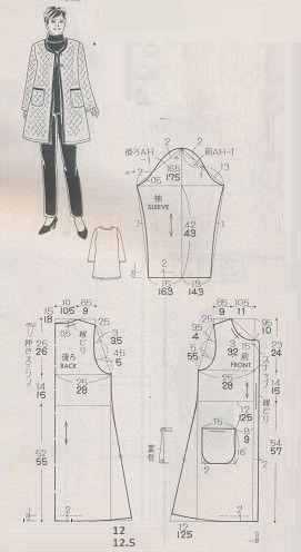 743 платье / блузка ,с длинным либо коротким рукавом , размеры португальские с 36 -56 р, см. можно  таб. №1 , высоту  кокетки делаем на свой вкус . размер 36