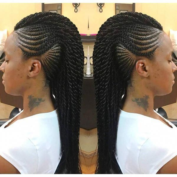 Mohawk Braid Frisuren Braid Frisuren Mohawk Blackhairstyles Braided Mohawk Hairstyles Braided Mohawk Black Hair Mohawk Hairstyles