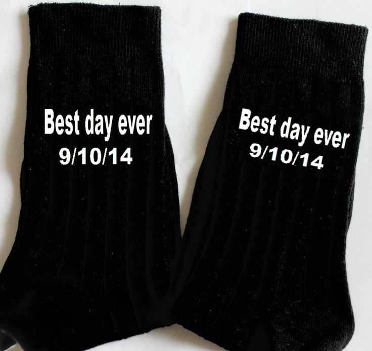 groom,  best day ever date Socks  Groom wedding socks,Groom Wedding Gift, Men Wedding Day Attire,wedding socks,groomsmen,personalized socks by minjing on Etsy https://www.etsy.com/listing/195915608/groom-best-day-ever-date-socks-groom