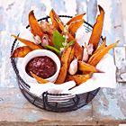 Een heerlijk recept: Patat van zoete aardappelen met zelfgemaakte ketchup