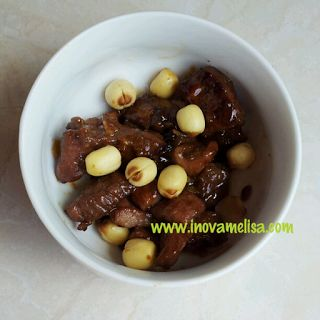 Resep Mudah Praktis : Daging Sapi Panggang Tabur Biji Teratai ( Mede ) ~ Resep Inova Melisa