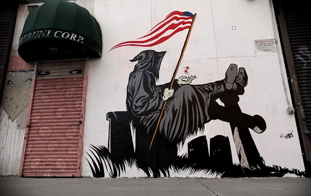 Grim Tales by DFace in Brooklyn, NYC