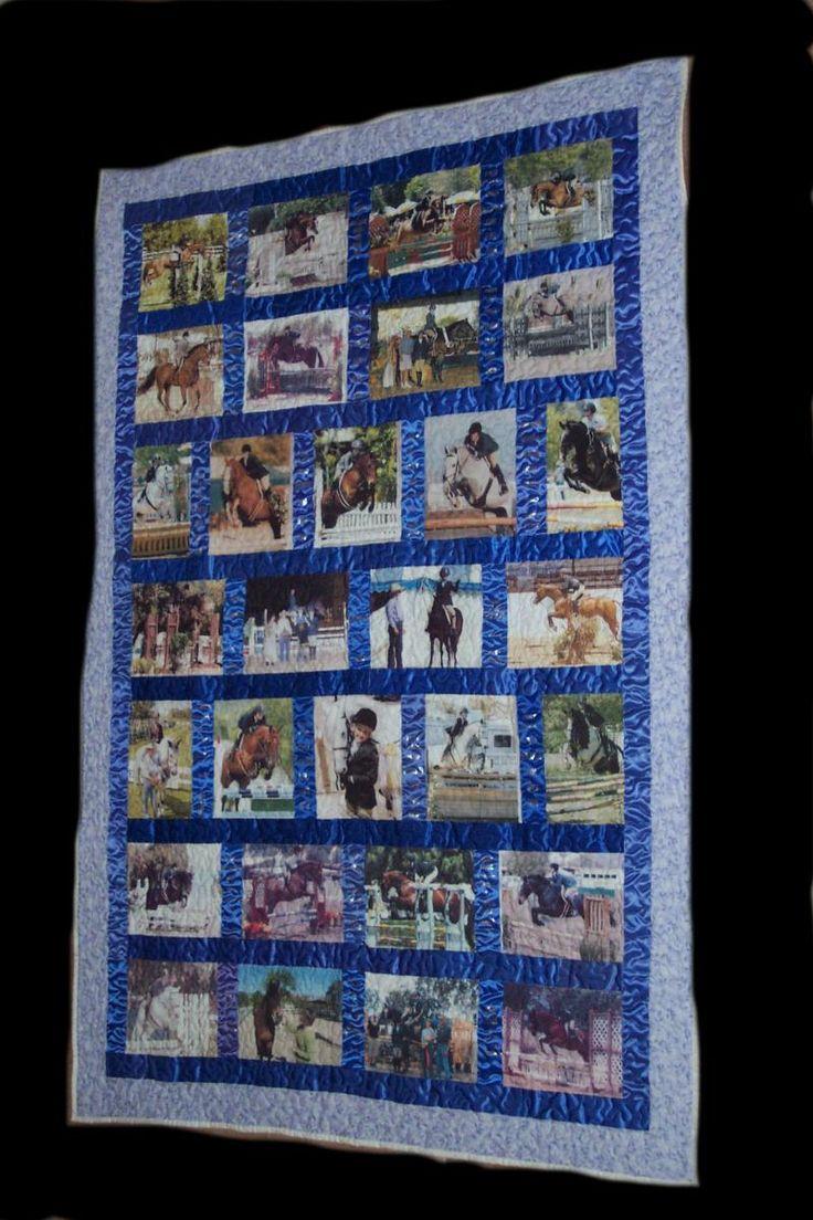 Keepsake Ribbon Quilts - Trainer appreciation quilt