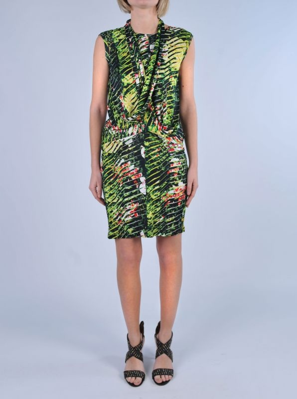 "KENZO - Abito stampa ""jungle"" 