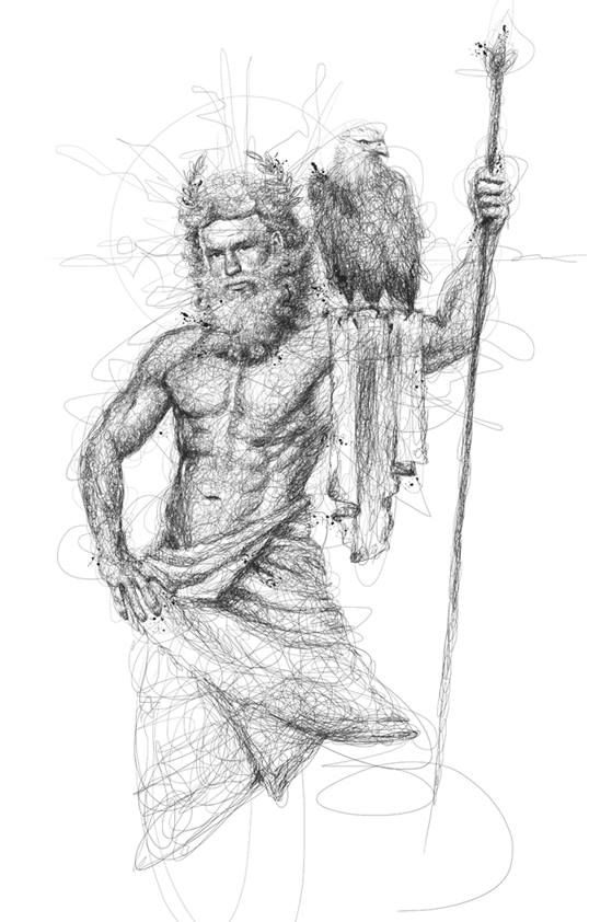 Line Drawing Of Zeus : Best drawings with lines vince low images on pinterest
