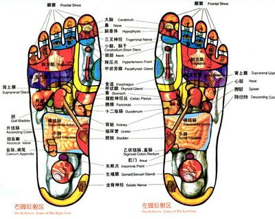 Chinese Foot Massage Diagram Reflexology Pinterest Massage