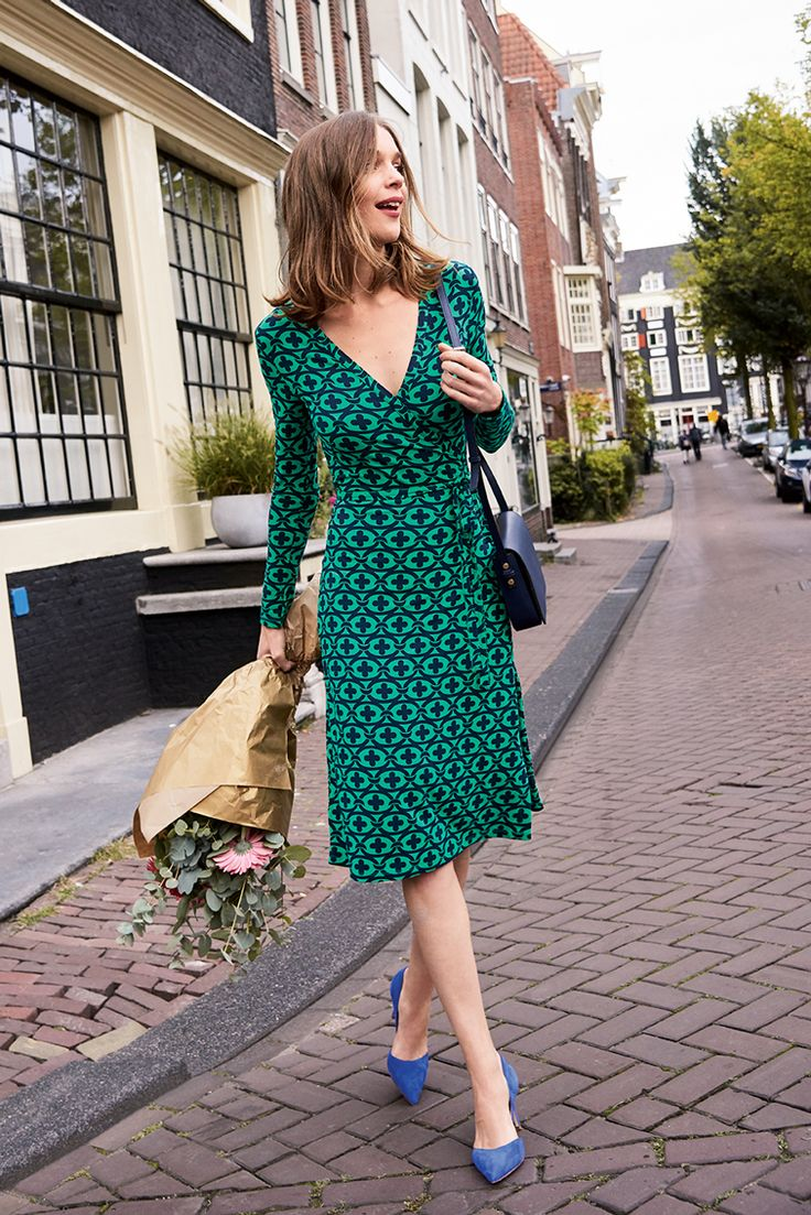Possibly THE most flattering dress in town. The neckline is ultra-flattering, while the soft, stretch jersey makes it a dream to wear.