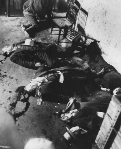 14 February 1929, St Valentine's Day Massacre