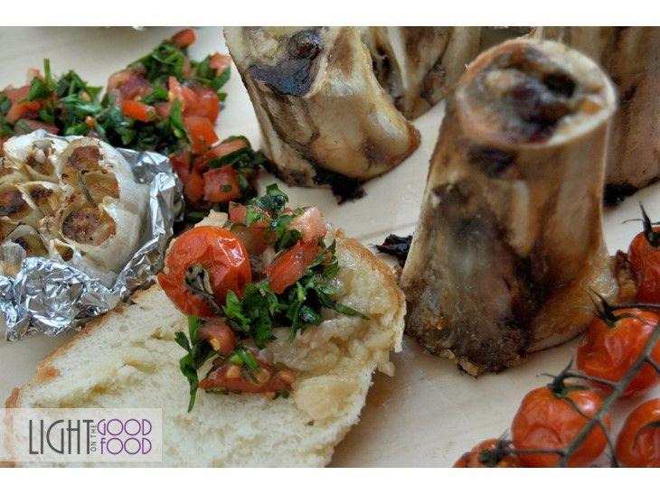 Maduva la cuptor cu salata de patrunjel, usturoi copt si rosii coapte -Inel, inel de aur, Faramita Lambru | lightgoodfood.ro