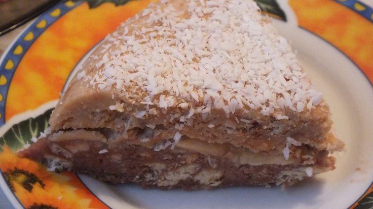 Торт без выпечки за 15 минут торт из печенья и сгущенки как сделать торт из печенья быстрый торт со сгущенкой без выпечки рецепт торта ФЛЭШ -накопитель игруш...
