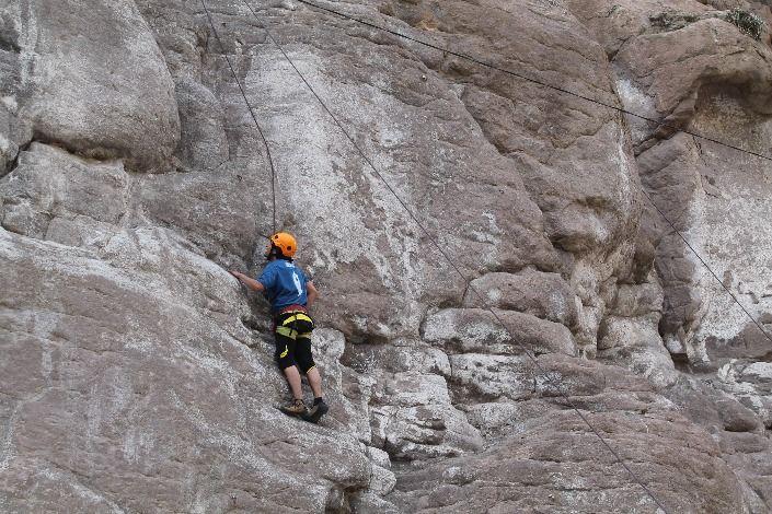 El aventurero Pedro Alberto nos  comparte su aventura extrema, #escalada en roca,  deporte de aventura practicado en la ciudad de Arequipa.  #deporteextremo #DeAventura
