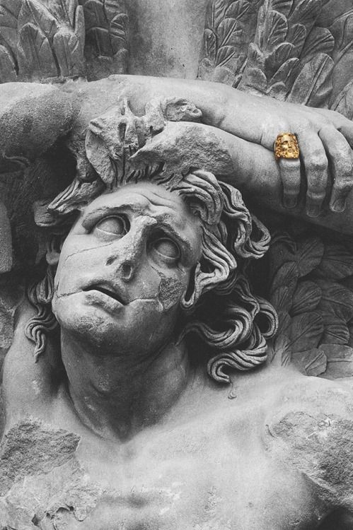 Image result for eris statue, black and white picture