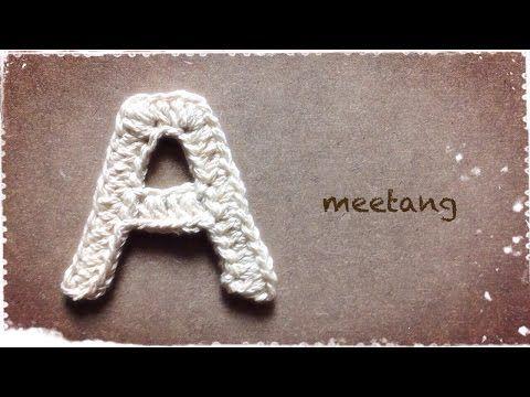 保存版!アルファベット「A~Z」全26文字の編み方動画【meetang &co.さんに学ぶ】   Handful